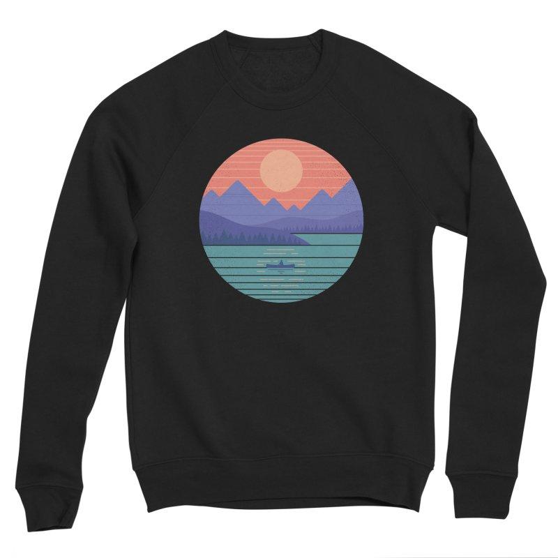Peaceful Reflection Men's Sponge Fleece Sweatshirt by thepapercrane's shop