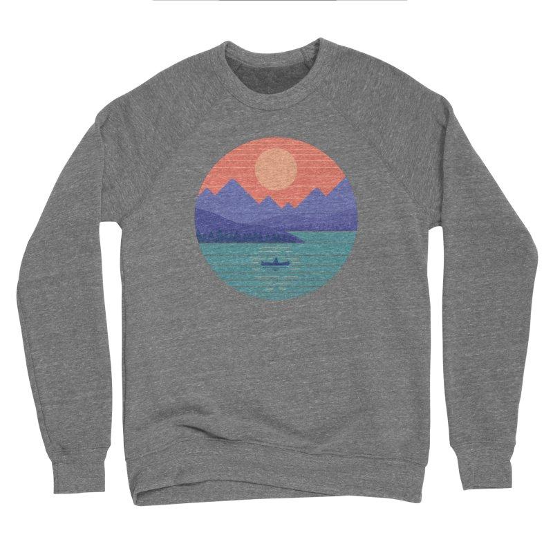 Peaceful Reflection Women's Sponge Fleece Sweatshirt by thepapercrane's shop