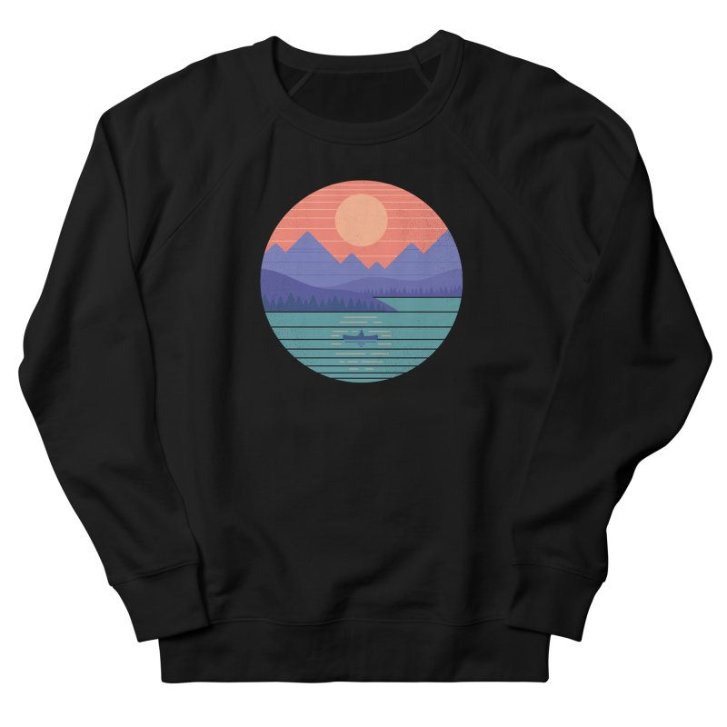 Peaceful Reflection Women's Sweatshirt by thepapercrane's shop