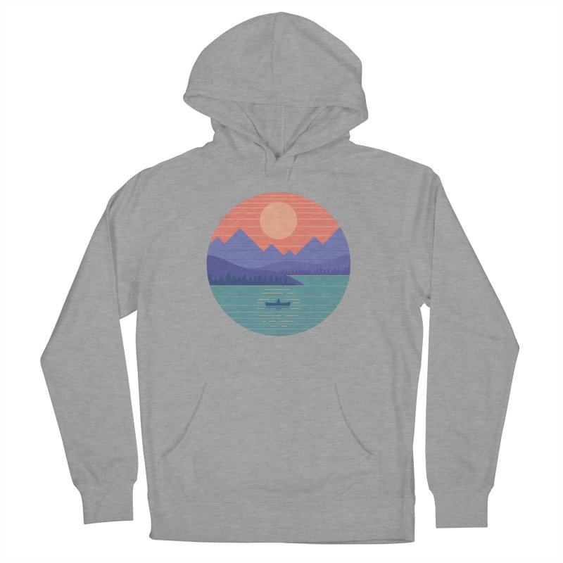 Peaceful Reflection Women's French Terry Pullover Hoody by thepapercrane's shop