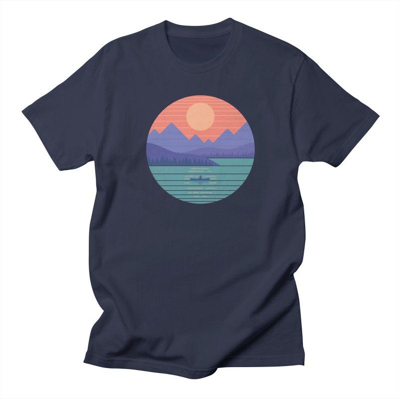 Peaceful Reflection Women's Regular Unisex T-Shirt by thepapercrane's shop
