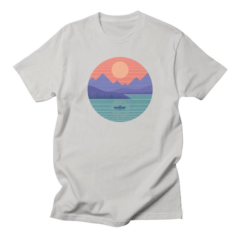 Peaceful Reflection Men's Regular T-Shirt by thepapercrane's shop