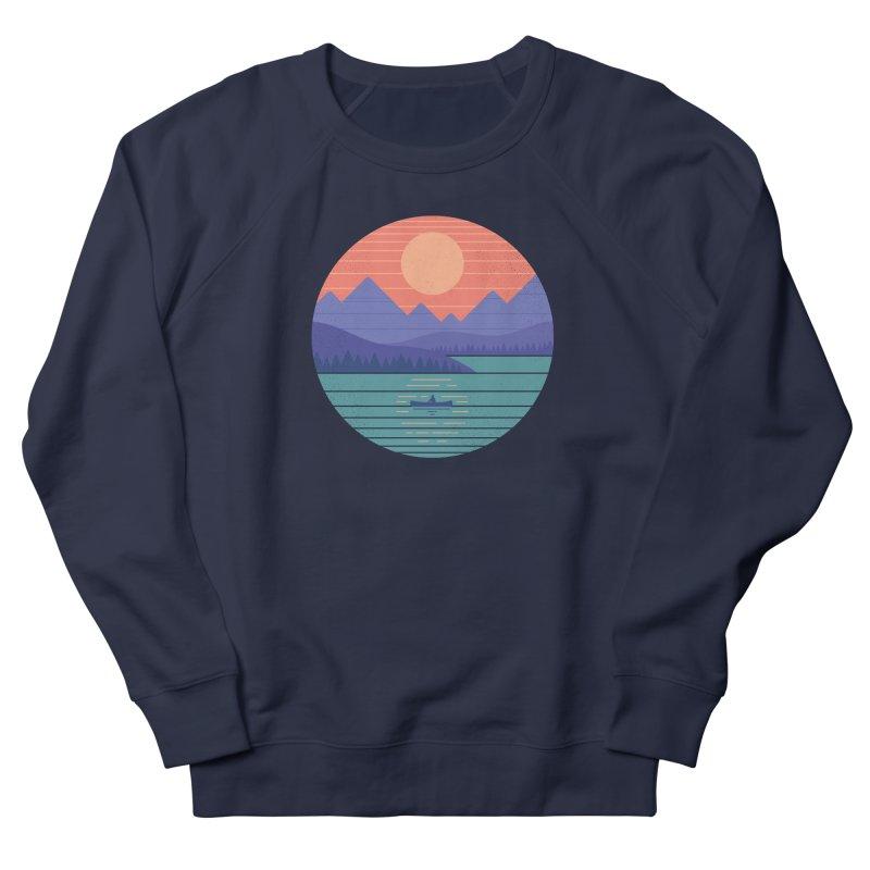 Peaceful Reflection Women's French Terry Sweatshirt by thepapercrane's shop