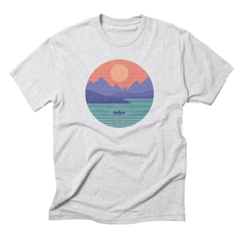 Peaceful Reflection Men's Triblend T-Shirt by thepapercrane's shop