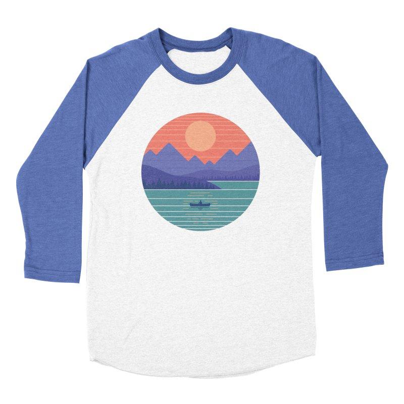 Peaceful Reflection Women's Baseball Triblend Longsleeve T-Shirt by thepapercrane's shop