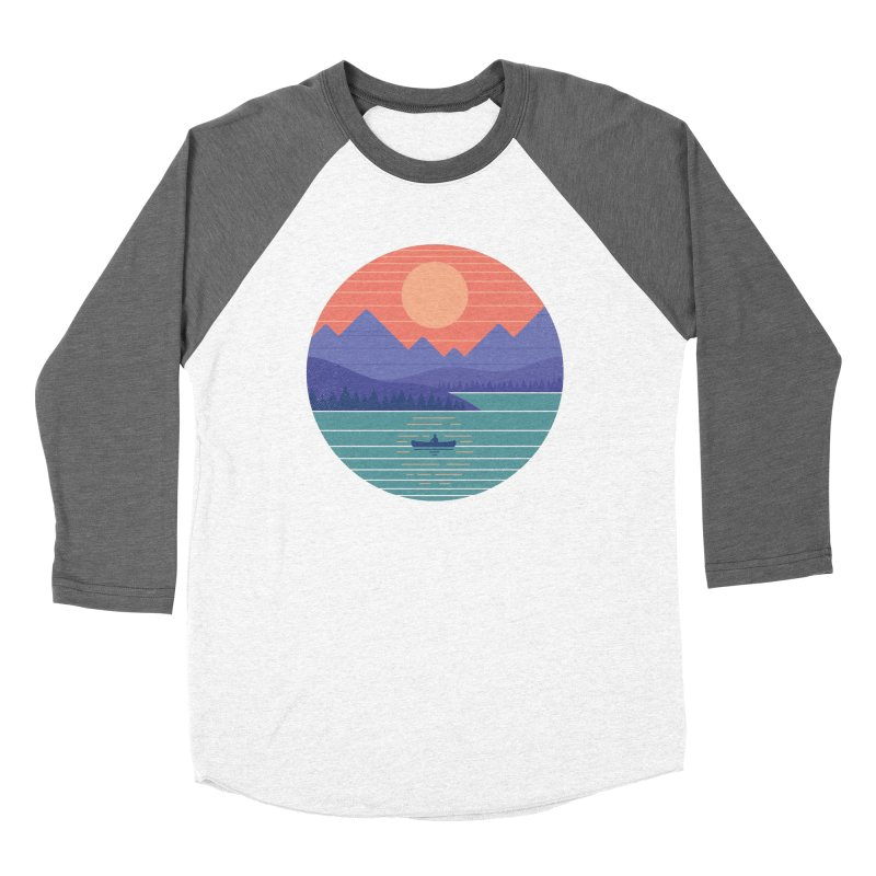 Peaceful Reflection Women's Longsleeve T-Shirt by thepapercrane's shop