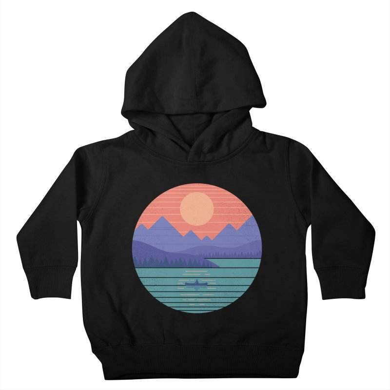 Peaceful Reflection Kids Toddler Pullover Hoody by thepapercrane's shop