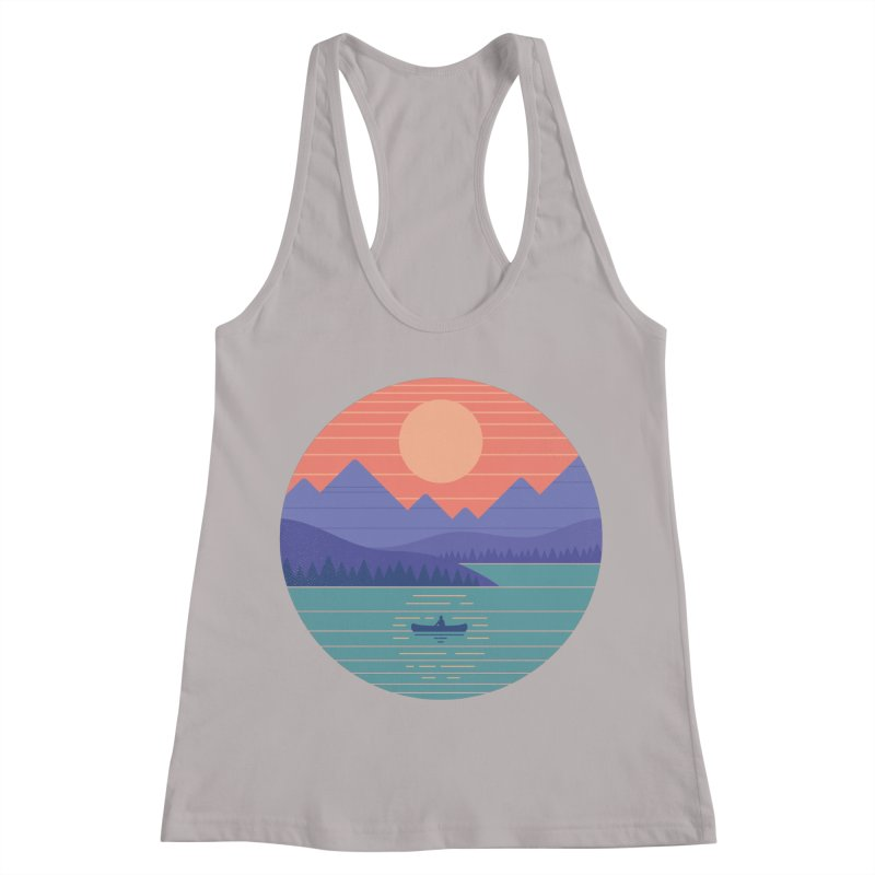 Peaceful Reflection Women's Racerback Tank by thepapercrane's shop