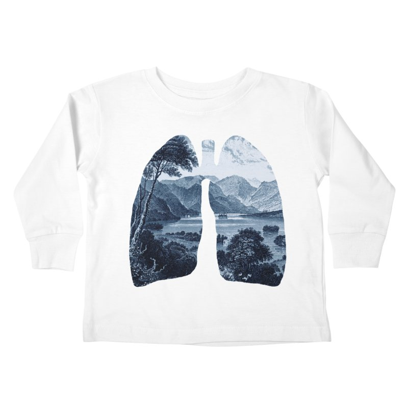 Fresh Kids Toddler Longsleeve T-Shirt by thepapercrane's shop