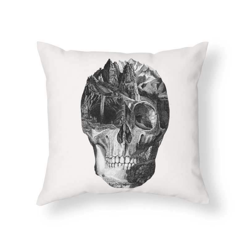The Final Adventure Home Throw Pillow by thepapercrane's shop