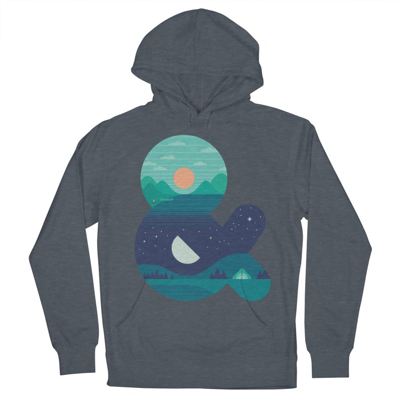 Day & Night Men's Pullover Hoody by thepapercrane's shop