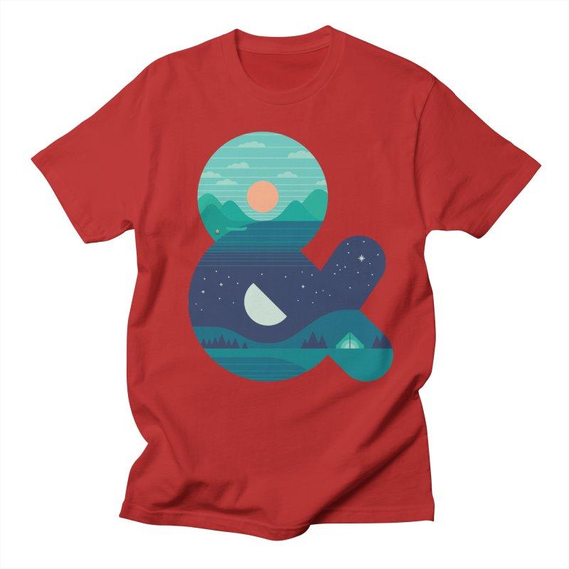 Day & Night Men's T-shirt by thepapercrane's shop