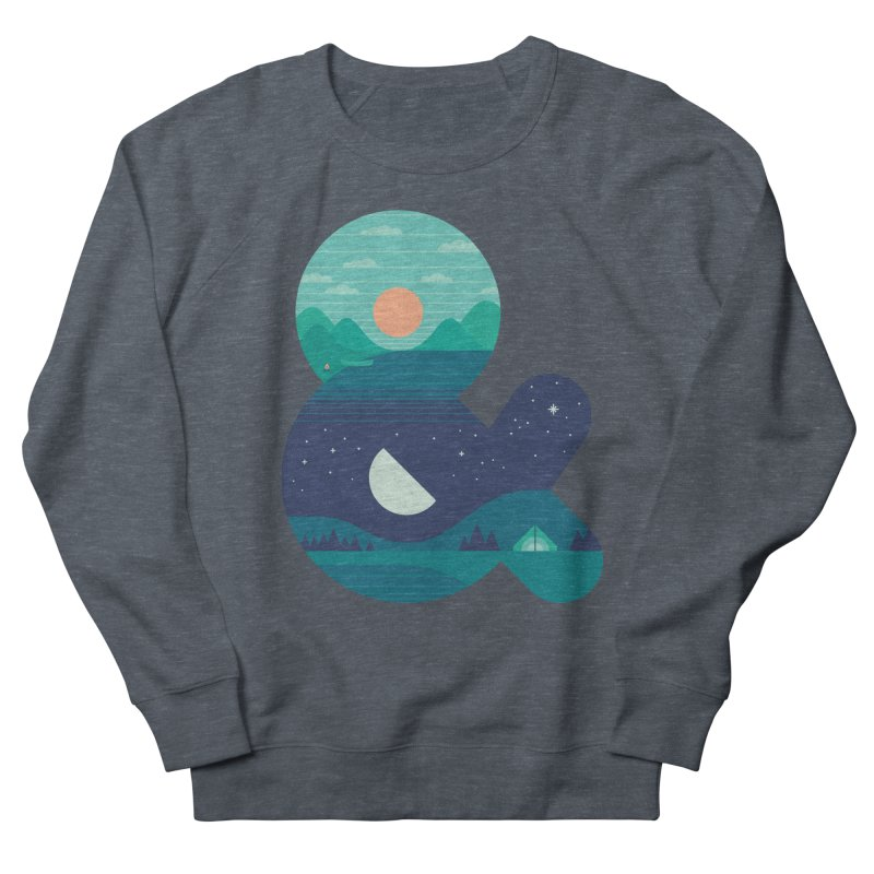 Day & Night Women's Sweatshirt by thepapercrane's shop