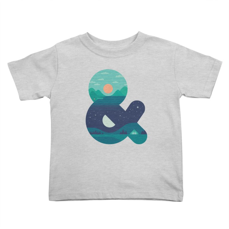 Day & Night Kids Toddler T-Shirt by thepapercrane's shop