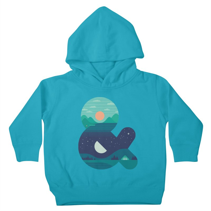 Day & Night Kids Toddler Pullover Hoody by thepapercrane's shop