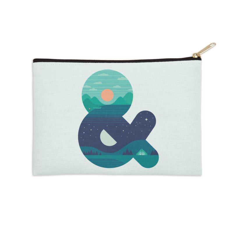 Day & Night Accessories Zip Pouch by thepapercrane's shop