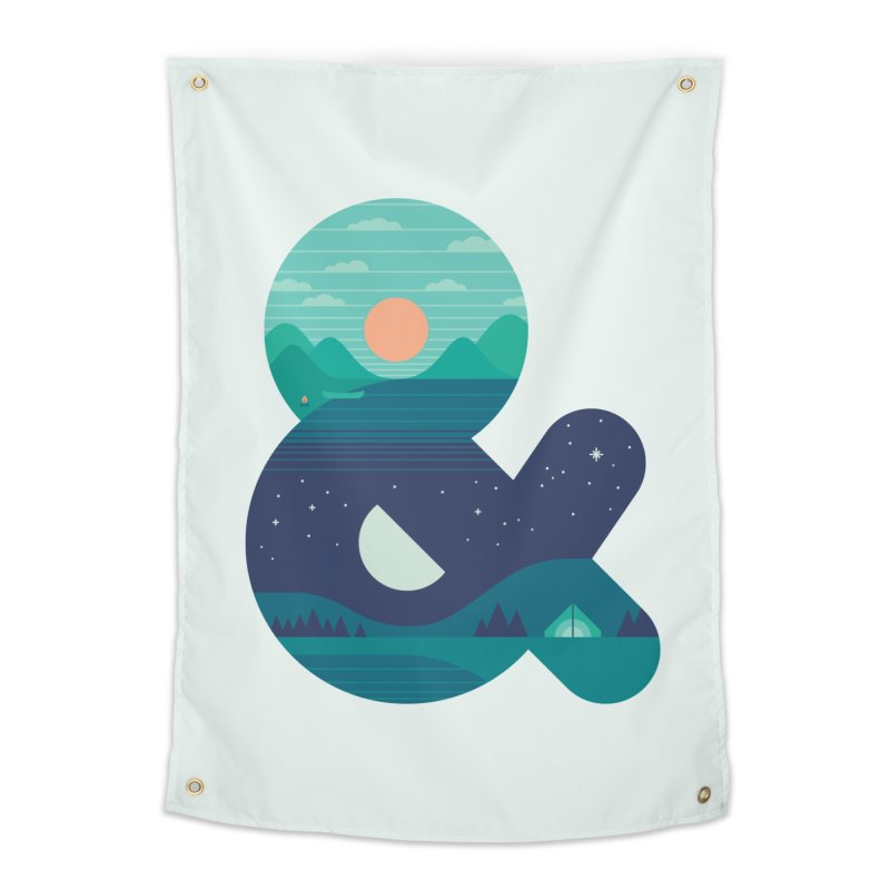 Day & Night Home Tapestry by thepapercrane's shop