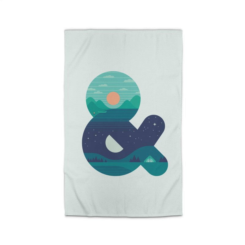 Day & Night Home Rug by thepapercrane's shop