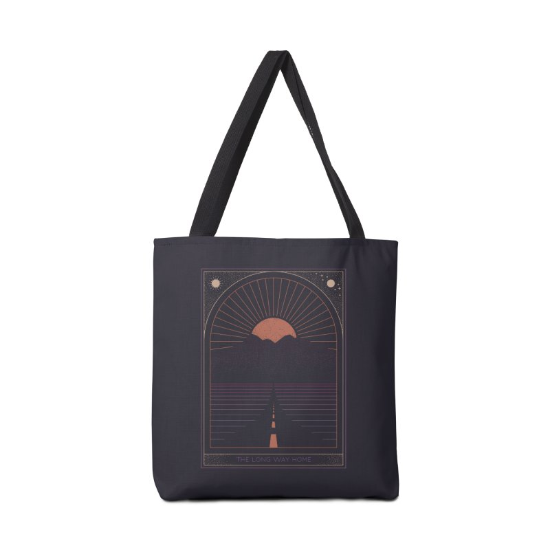 The Long Way Home Accessories Tote Bag Bag by thepapercrane's shop