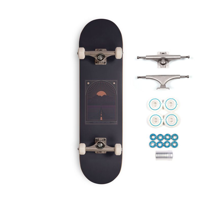 The Long Way Home Accessories Complete - Basic Skateboard by thepapercrane's shop