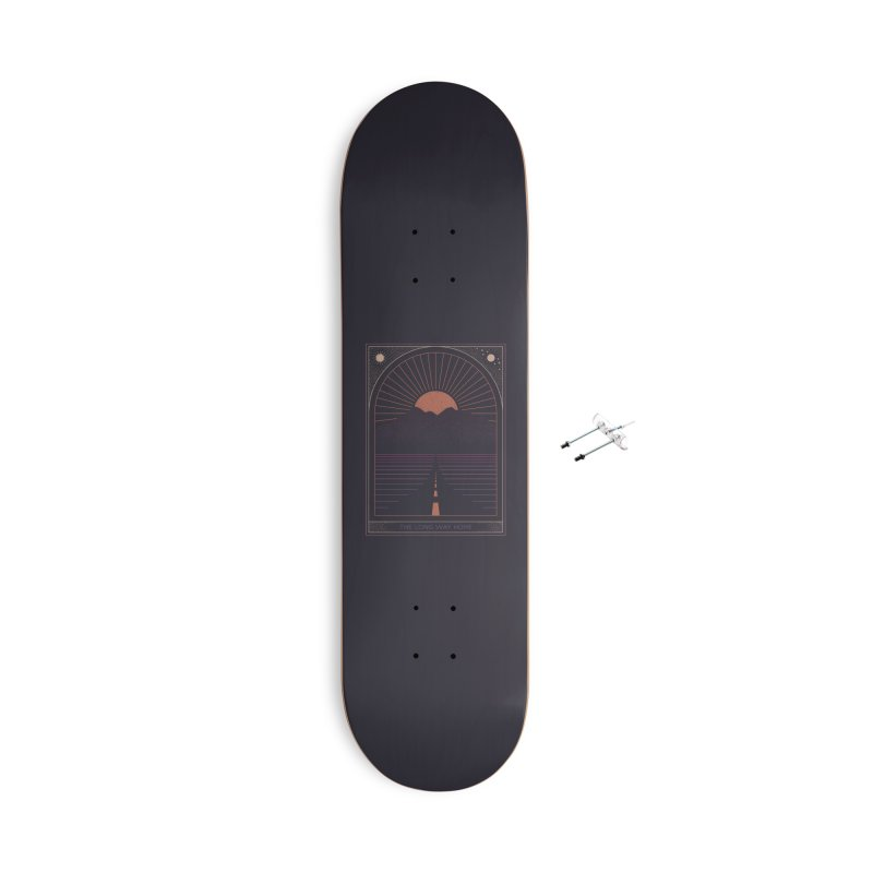 The Long Way Home Accessories With Hanging Hardware Skateboard by thepapercrane's shop