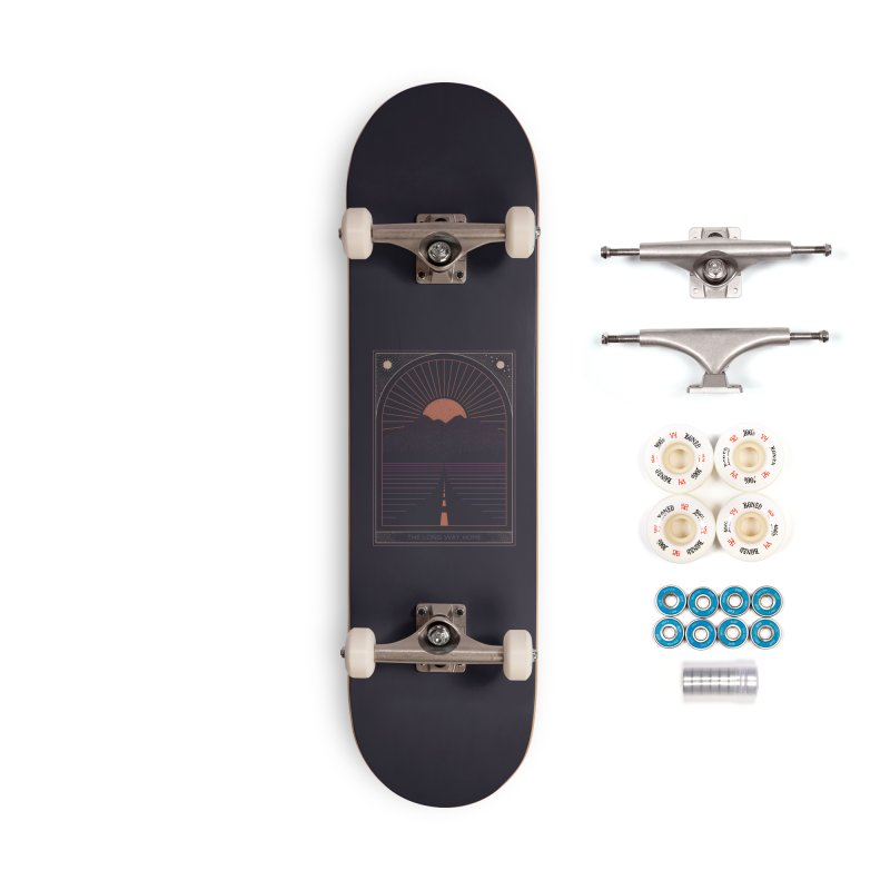 The Long Way Home Accessories Skateboard by thepapercrane's shop