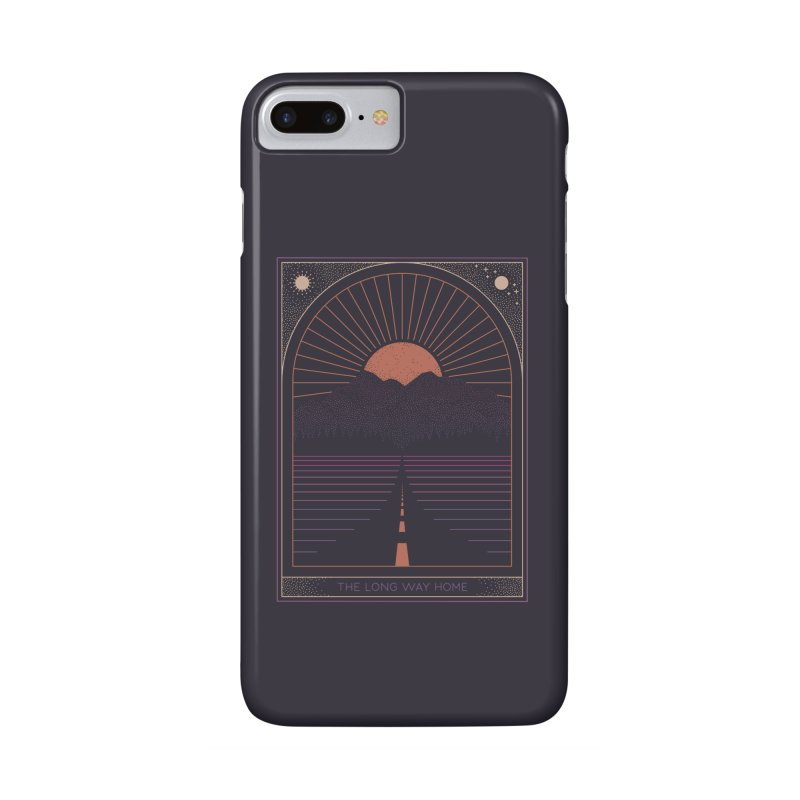 The Long Way Home Accessories Phone Case by thepapercrane's shop