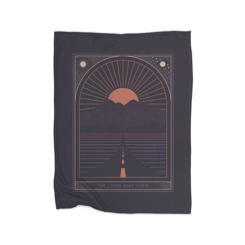 The Long Way Home Home Blanket by thepapercrane's shop