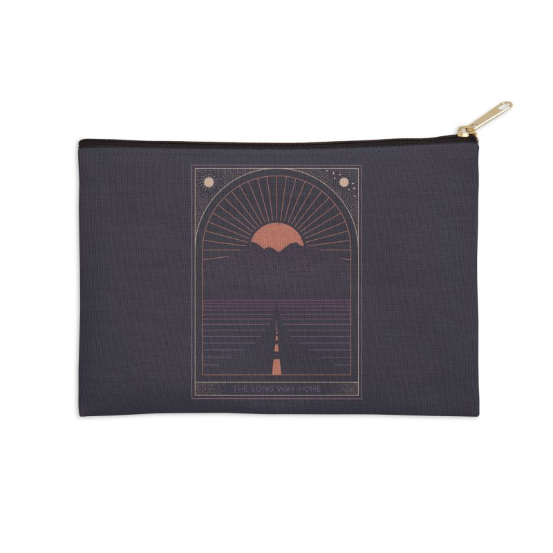 The Long Way Home Accessories Zip Pouch by thepapercrane's shop