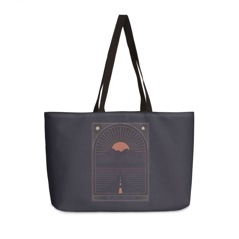 The Long Way Home Accessories Weekender Bag Bag by thepapercrane's shop
