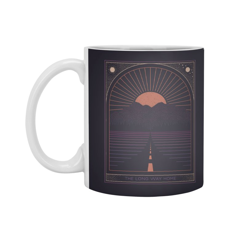 The Long Way Home Accessories Standard Mug by thepapercrane's shop