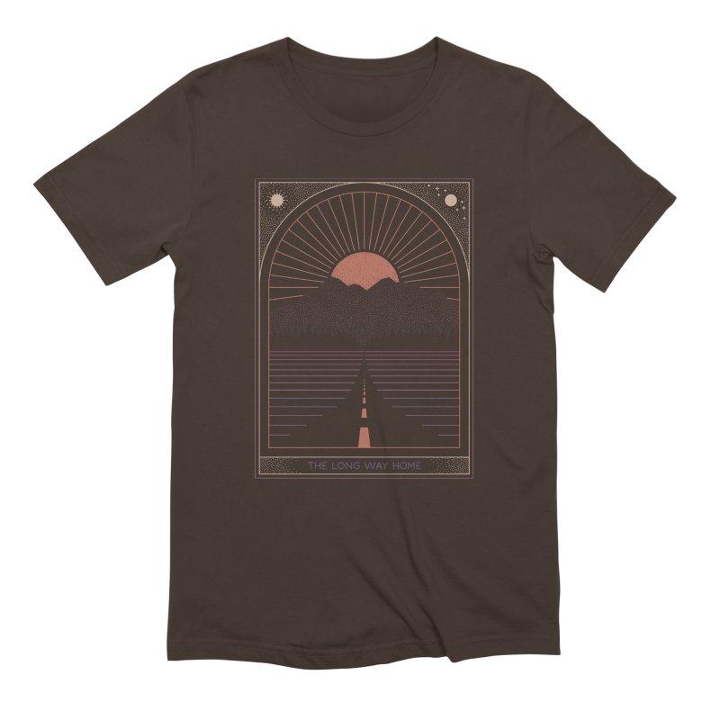 The Long Way Home Men's Extra Soft T-Shirt by thepapercrane's shop