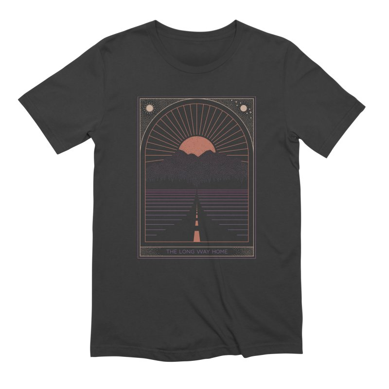 The Long Way Home Men's Extra Soft T-Shirt by thepapercrane's shop
