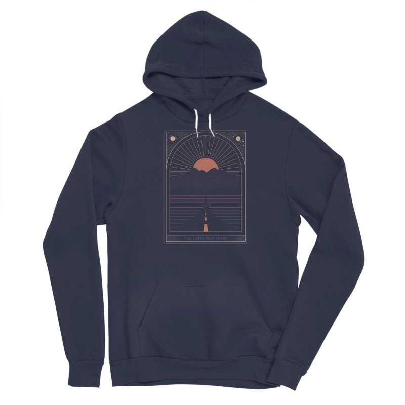 The Long Way Home Men's Pullover Hoody by thepapercrane's shop