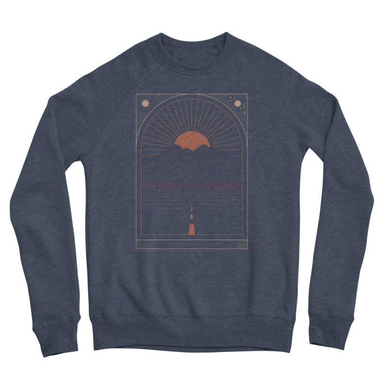 The Long Way Home Men's Sponge Fleece Sweatshirt by thepapercrane's shop