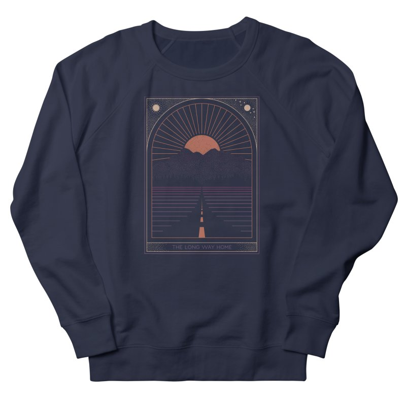 The Long Way Home Men's Sweatshirt by thepapercrane's shop