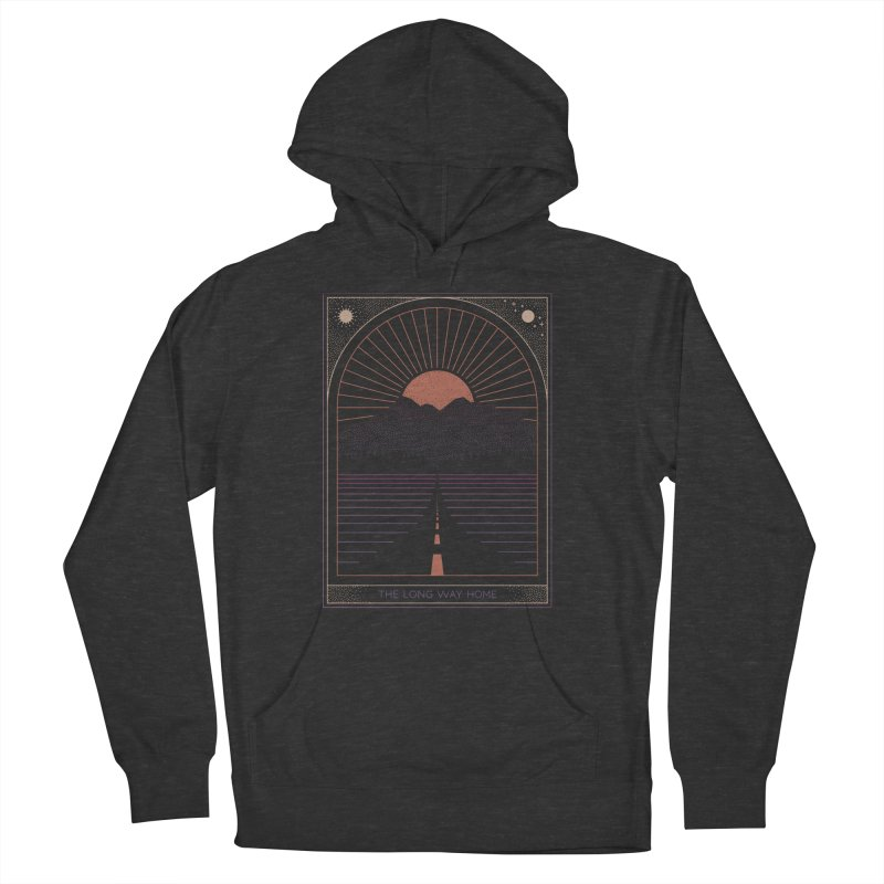 The Long Way Home Men's French Terry Pullover Hoody by thepapercrane's shop