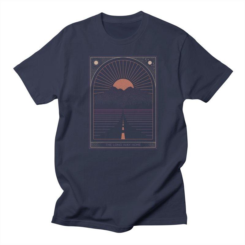 The Long Way Home Men's Regular T-Shirt by thepapercrane's shop
