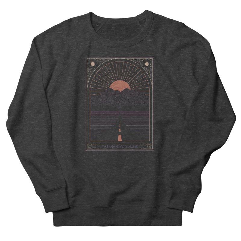 The Long Way Home Men's French Terry Sweatshirt by thepapercrane's shop