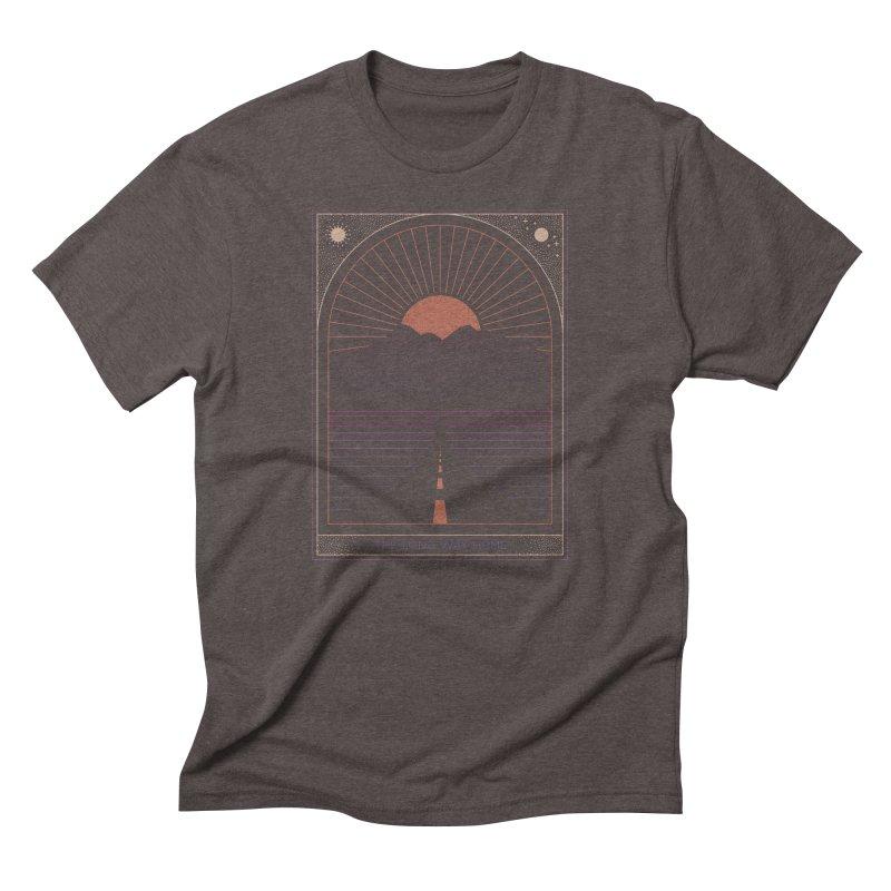 The Long Way Home Men's Triblend T-Shirt by thepapercrane's shop