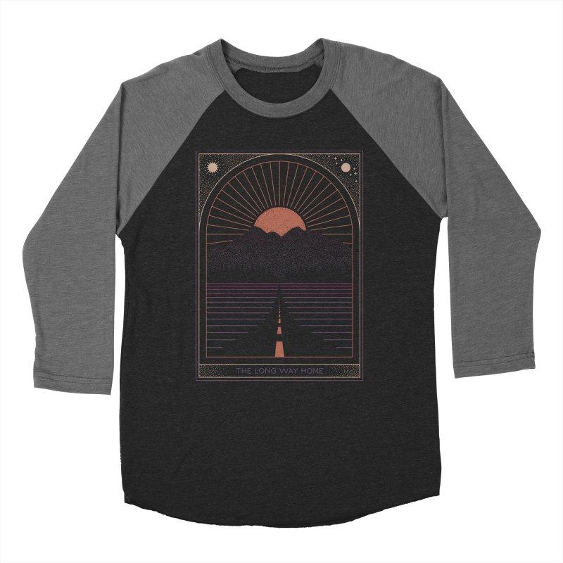 The Long Way Home Men's Baseball Triblend Longsleeve T-Shirt by thepapercrane's shop