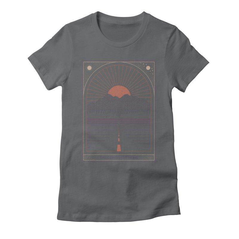 The Long Way Home Women's T-Shirt by thepapercrane's shop