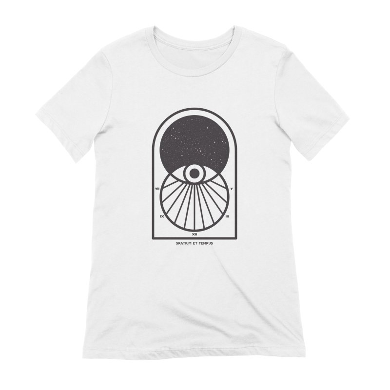 Space and Time Women's Extra Soft T-Shirt by thepapercrane's shop