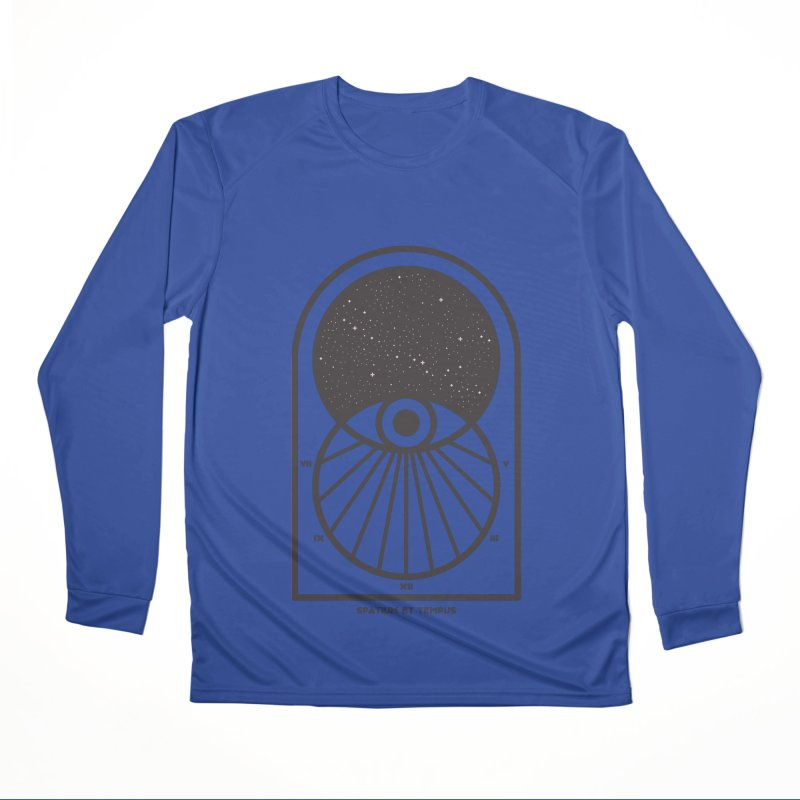 Space and Time Men's Performance Longsleeve T-Shirt by thepapercrane's shop