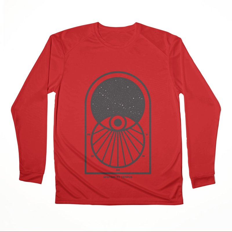 Space and Time Women's Performance Unisex Longsleeve T-Shirt by thepapercrane's shop