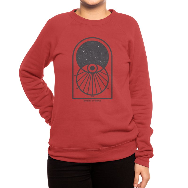 Space and Time Women's Sweatshirt by thepapercrane's shop