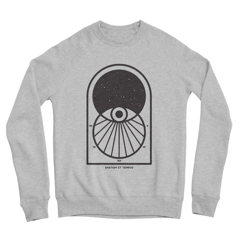 Space and Time Women's Sponge Fleece Sweatshirt by thepapercrane's shop