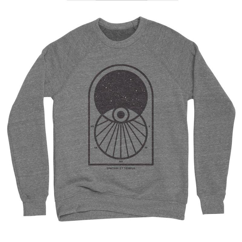 Space and Time Men's Sponge Fleece Sweatshirt by thepapercrane's shop
