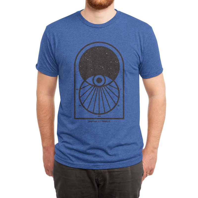 Space and Time Men's T-Shirt by thepapercrane's shop
