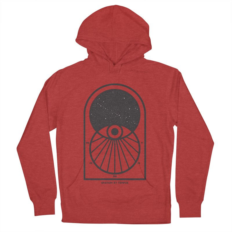 Space and Time Women's French Terry Pullover Hoody by thepapercrane's shop